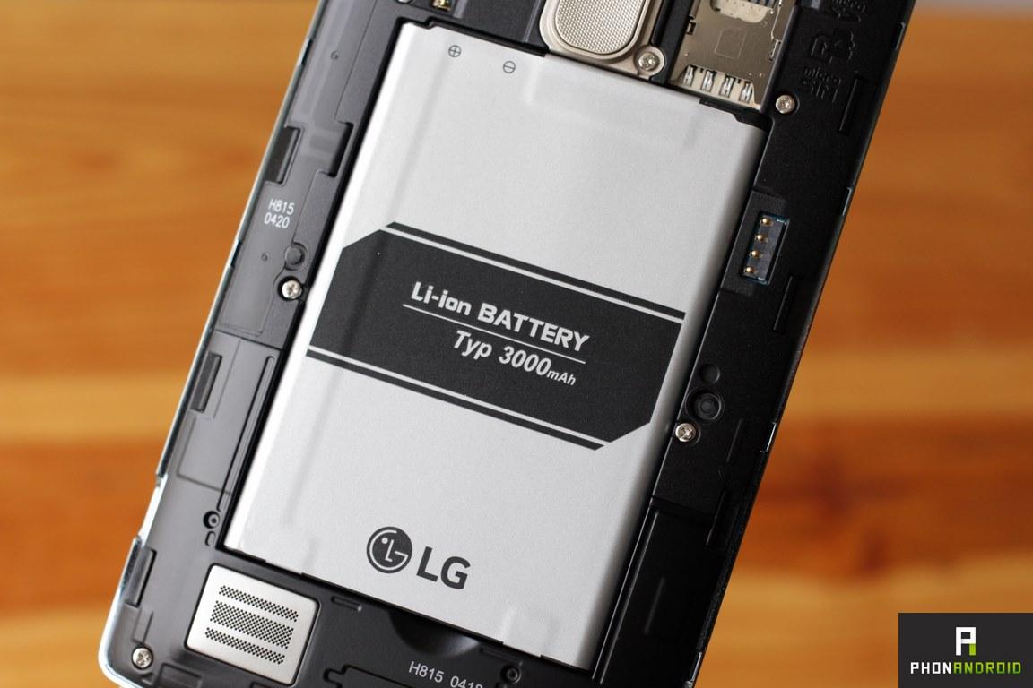lg g4 autonomie batterie