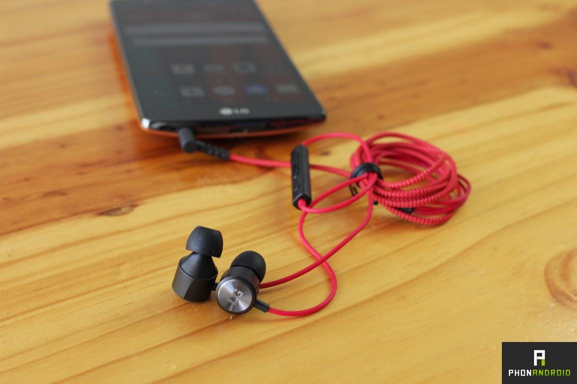 lg g4 ecouteur audio