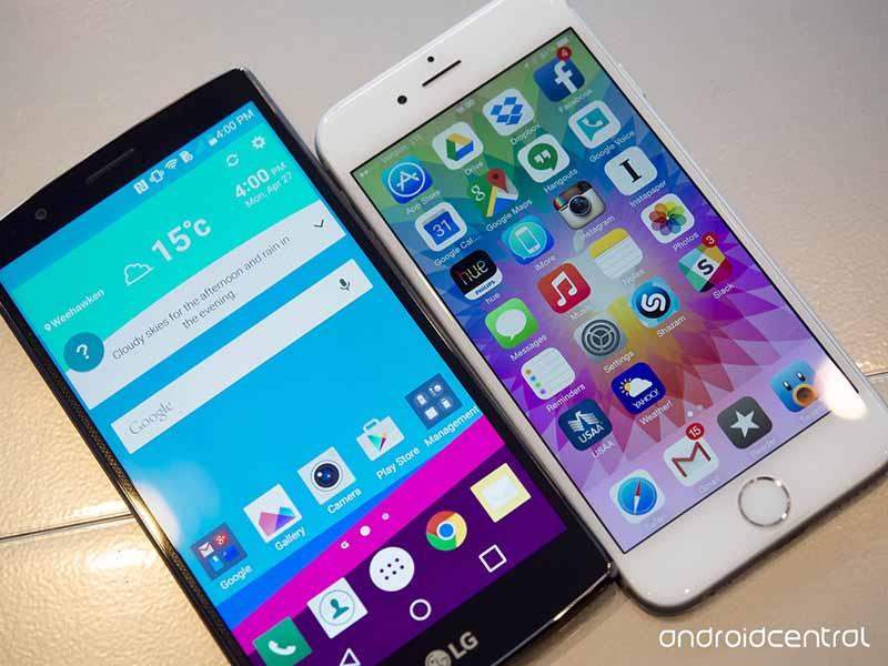 lg g4 meilleur ecran iphone 6