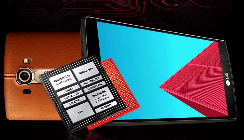 lg g4 processeur snapdragon 810 problemes batterie