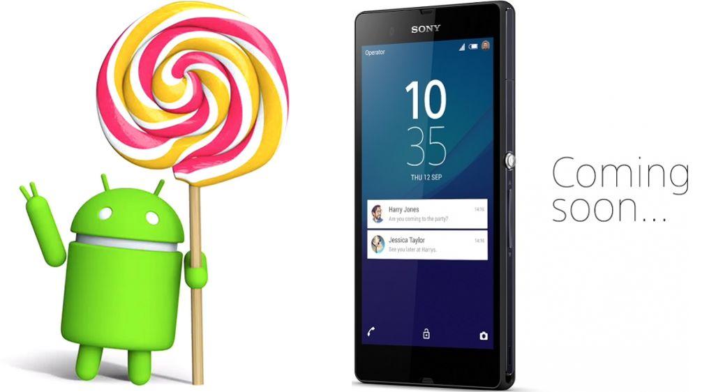 Sony Xperia Z Lollipop