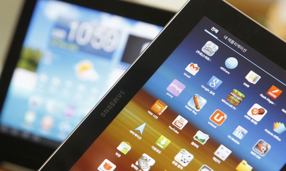 marche tablettes effondre seduisent plus utilisateurs