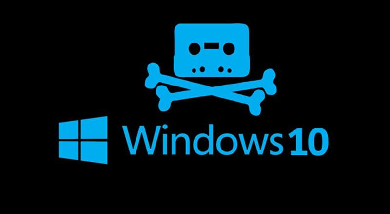 microsoft edition speciale windows 10 pirates