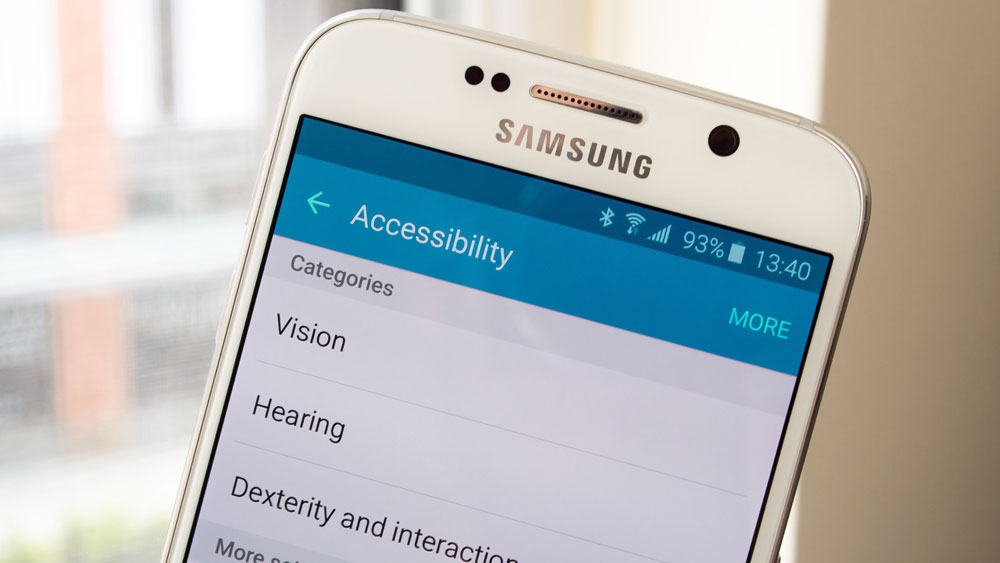 parametres accessibilite android