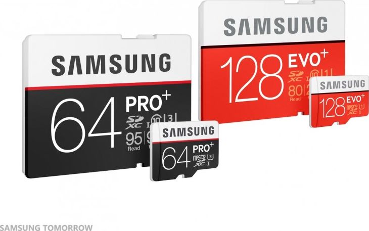 Samsung cartes SD
