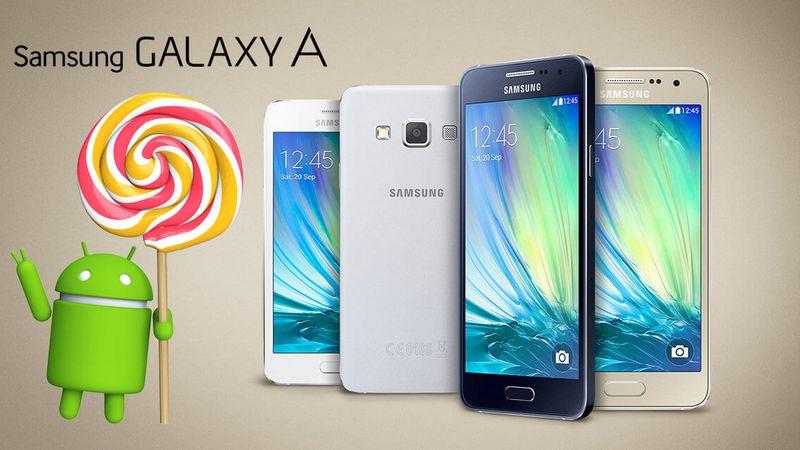 Samsung Galaxy A Lollipop