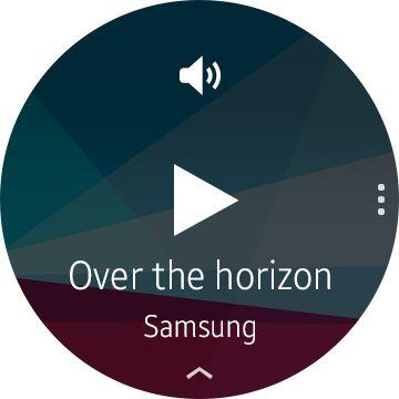 Samsung Gear A musique