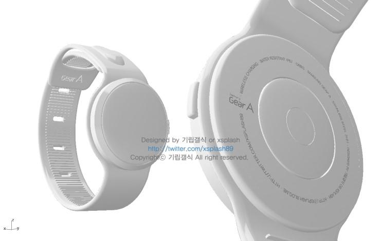 Samsung Gear A rendu