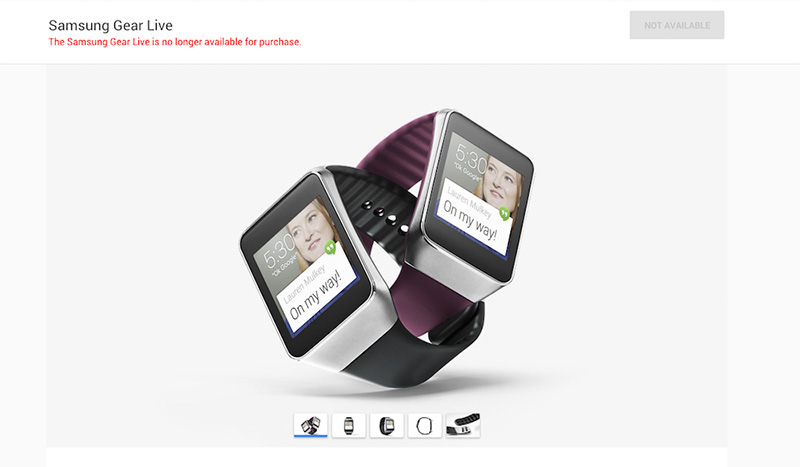 samsung gear live boude play store
