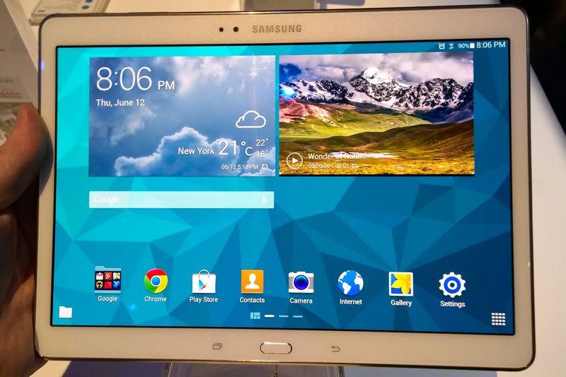 samsung   une nouvelle tablette avec 4 go de ram et processeur intel grav u00e9 en 14 nm