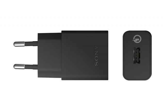 Sony Xperia Z3+ quick charge noir