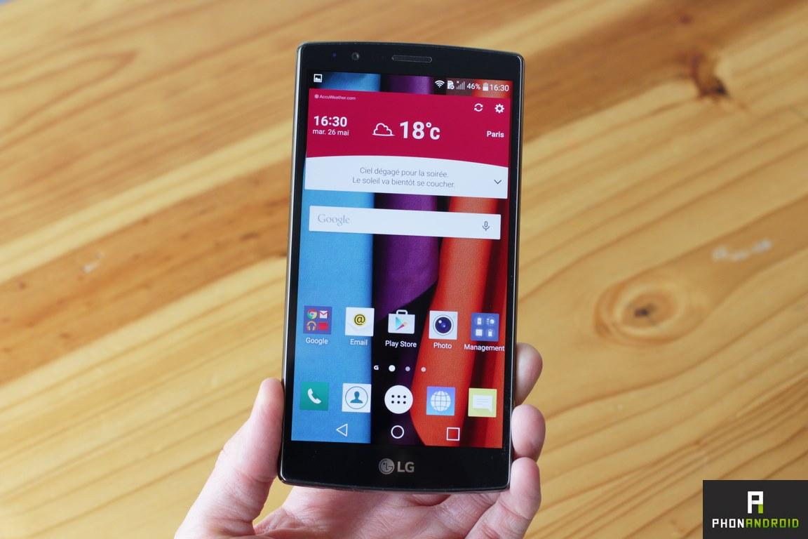 Test Du LG G4 Un Smartphone Impressionnant