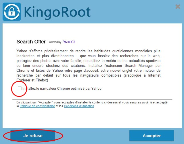 Kingo Root : comment rooter son téléphone Android