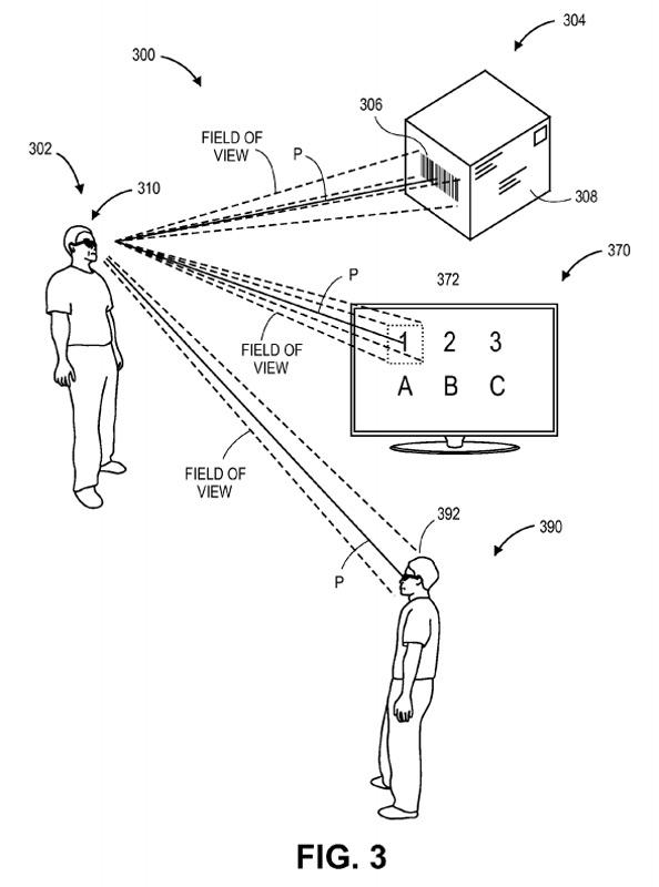 amazon brevet lunettes connectées