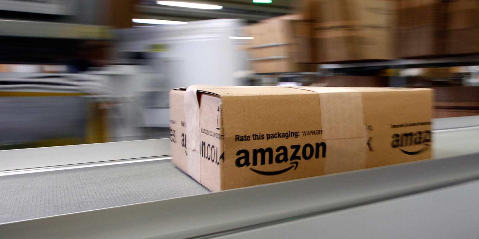 Livraison colis Amazon