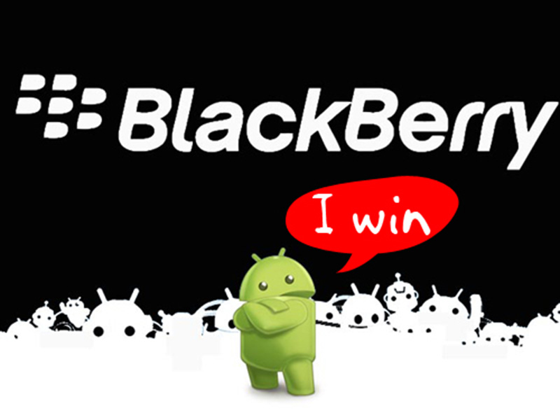 blackberry android automne