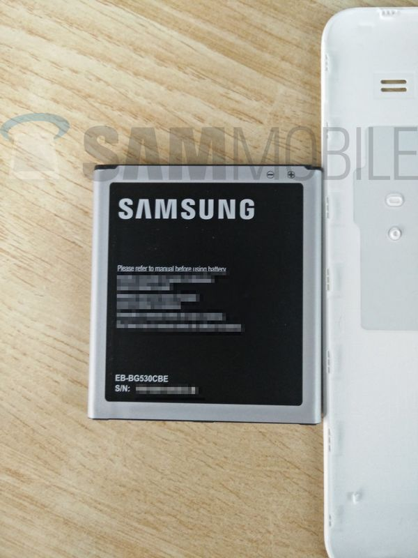 Galaxy J5 batterie amovible
