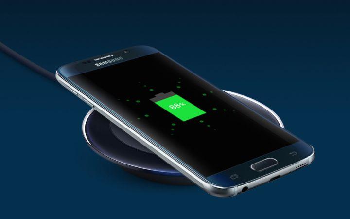 Galaxy S6 charge sans fil