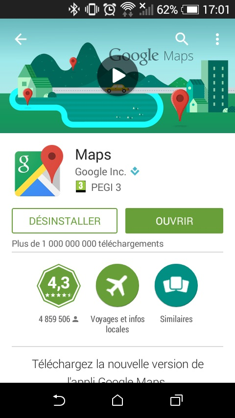 Google maps play