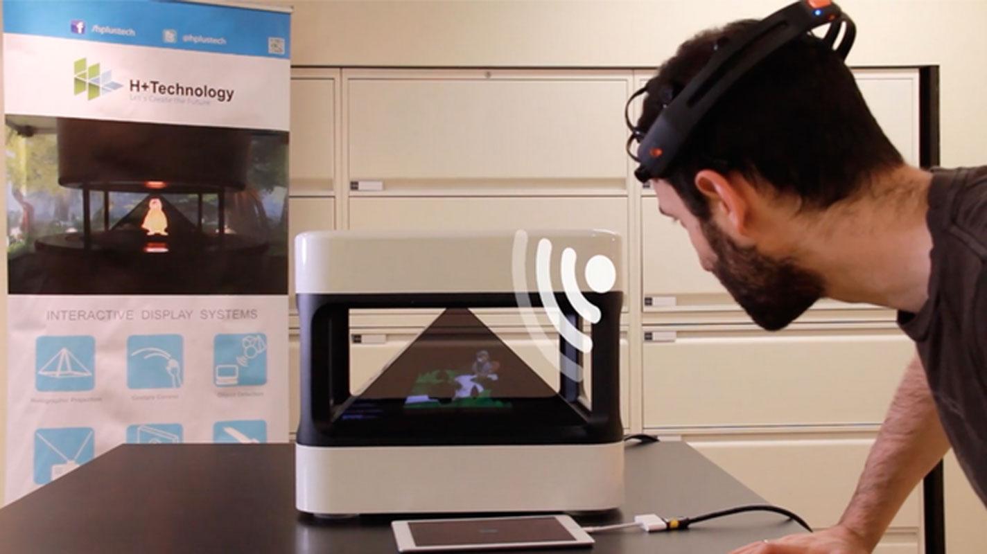 Holus hologramme 3D