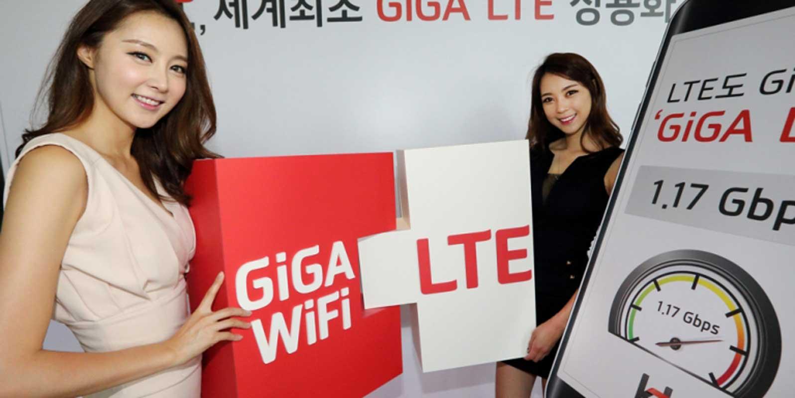 KT inaugure son réseau Giga LTE