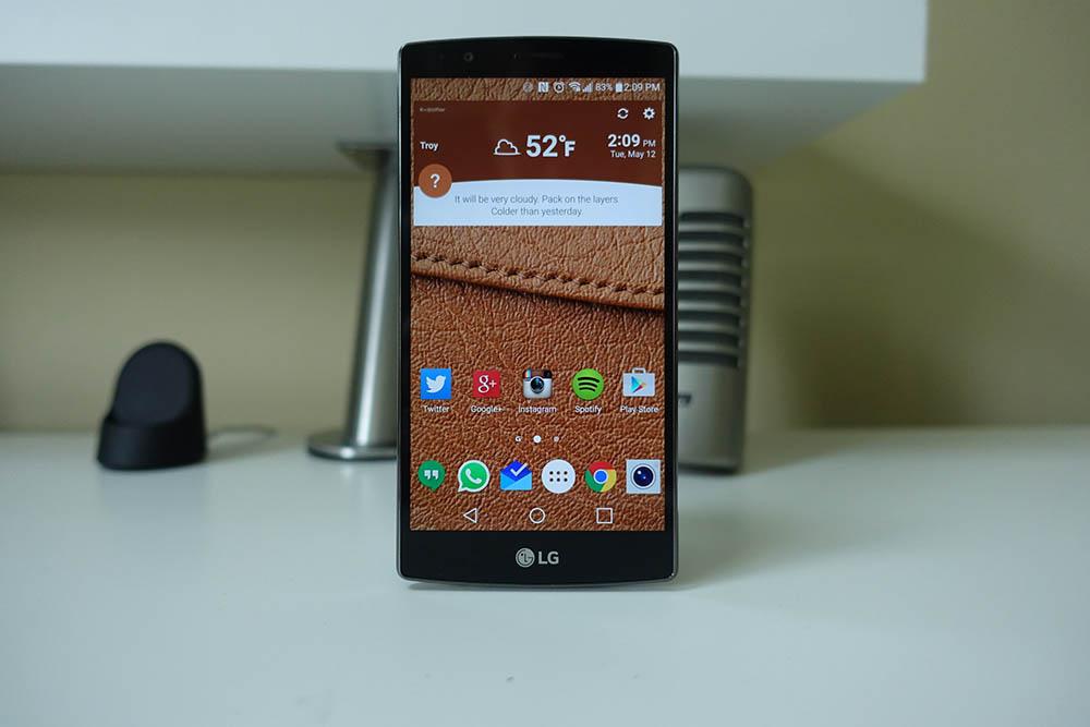 LG G4 mise a jour ecran