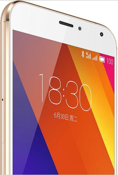 Meizu MX5 blanc