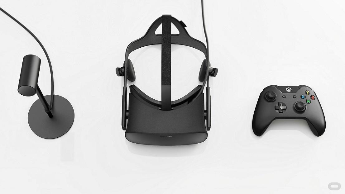 Oculus Rift manette ecouteurs