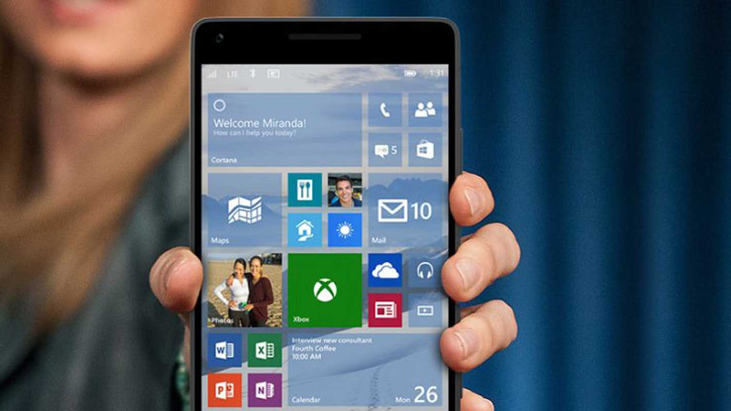 Windows 10 Mobile sur le Xiaomi Mi4