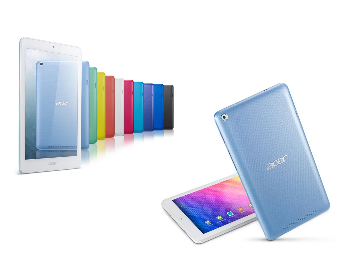 Les nouvelles Acer Iconia One