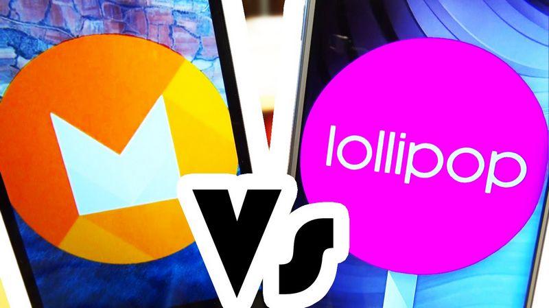 Android M vs Lollipop