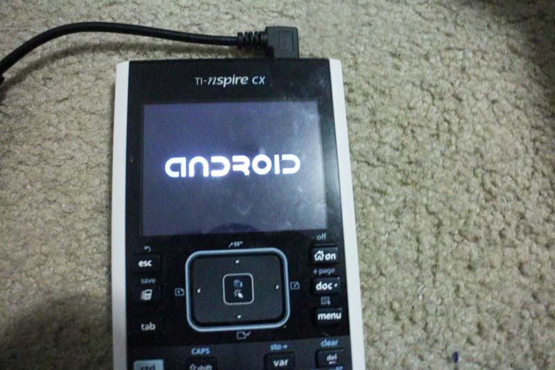 android calculatrice texas instruments