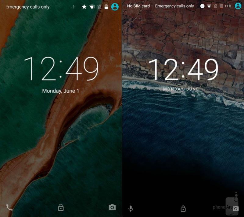 Android M lockscreen