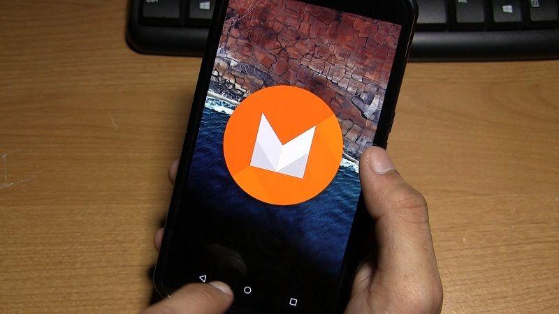 mise à jour Android M