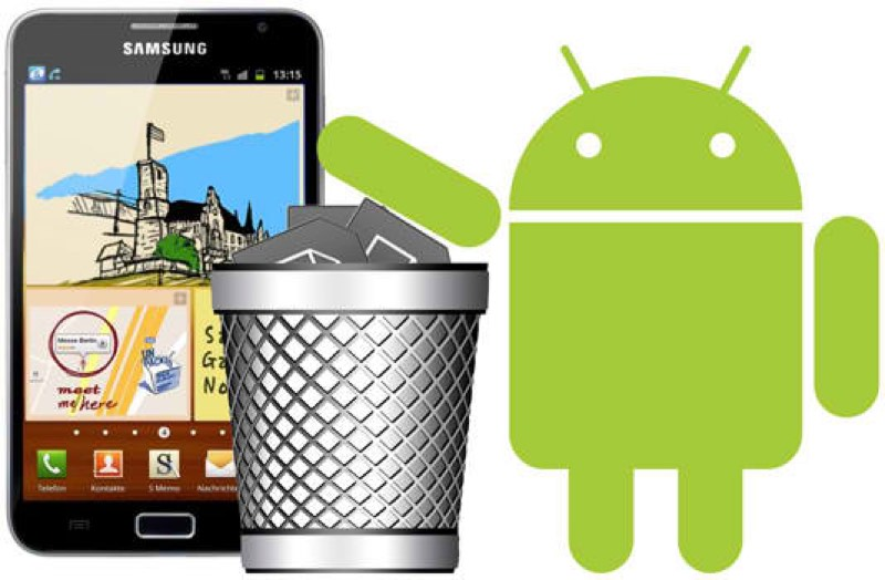 android trash