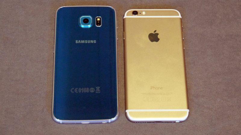 Apple Samsung camera
