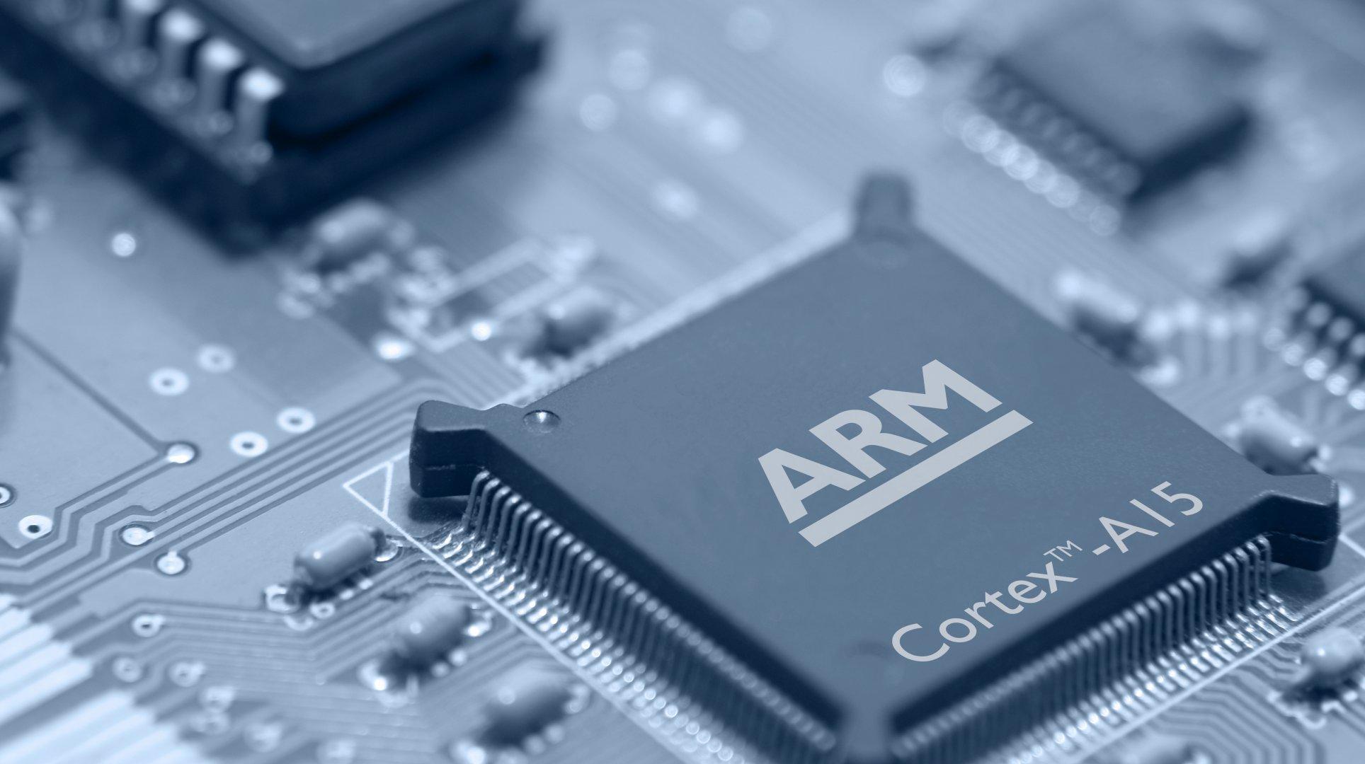 Image d'un processeur ARM