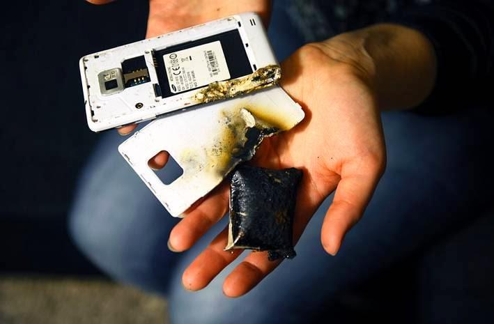 batterie explose