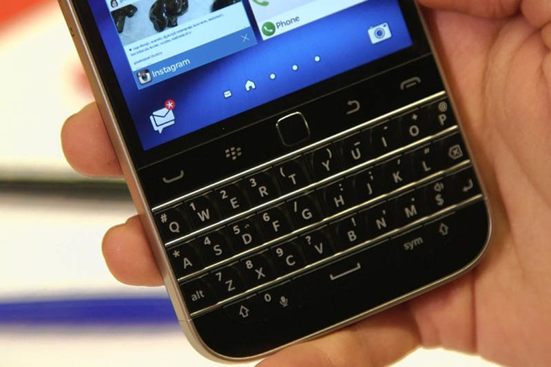 blackberry clavier physique