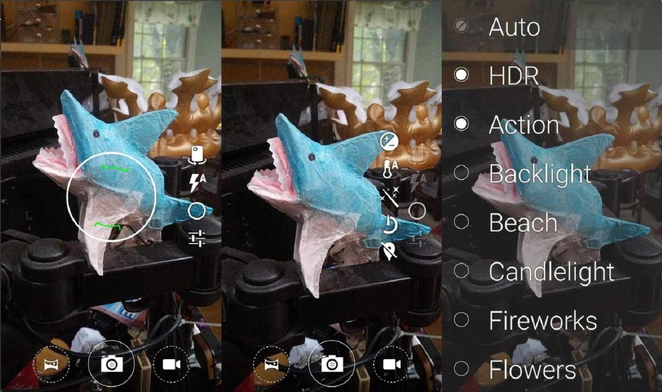 cyanogen appareil photo