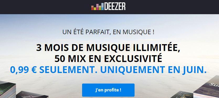 Deezer promotion