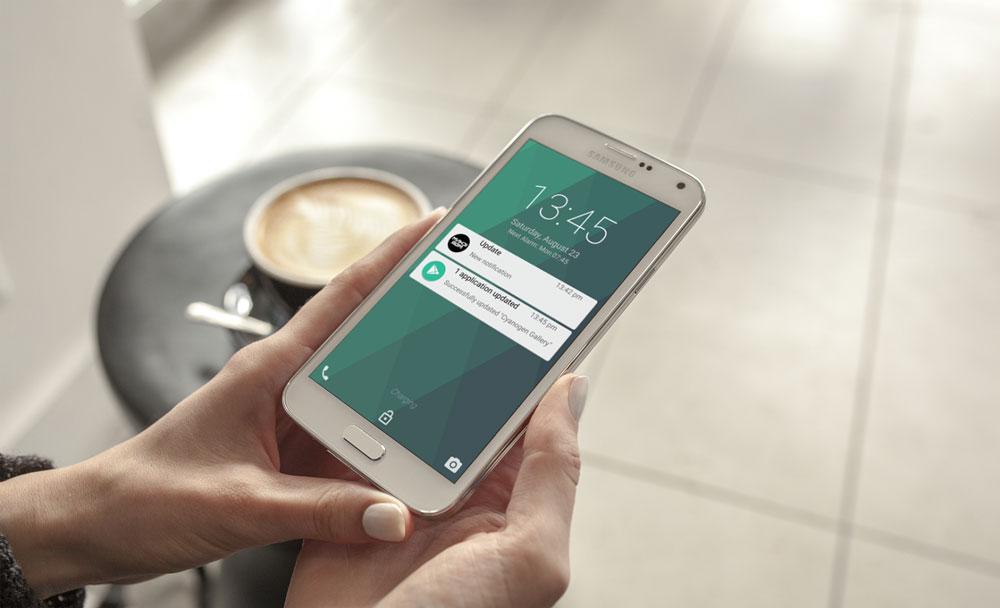 deverrouiller smartphone geste