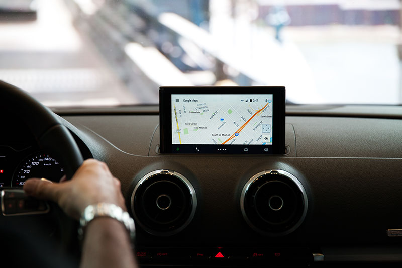 dispositif integre smartphone volant