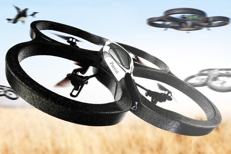 drones fete des peres