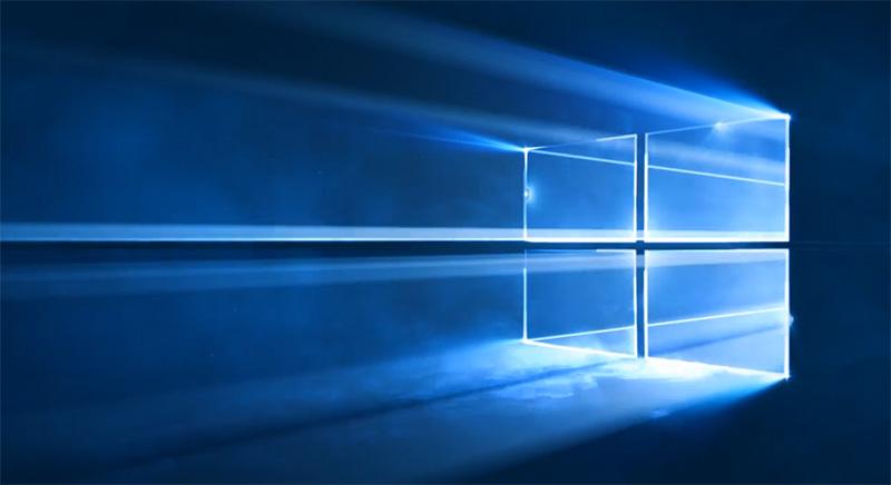 fond ecran officiel windows 10 microsoft