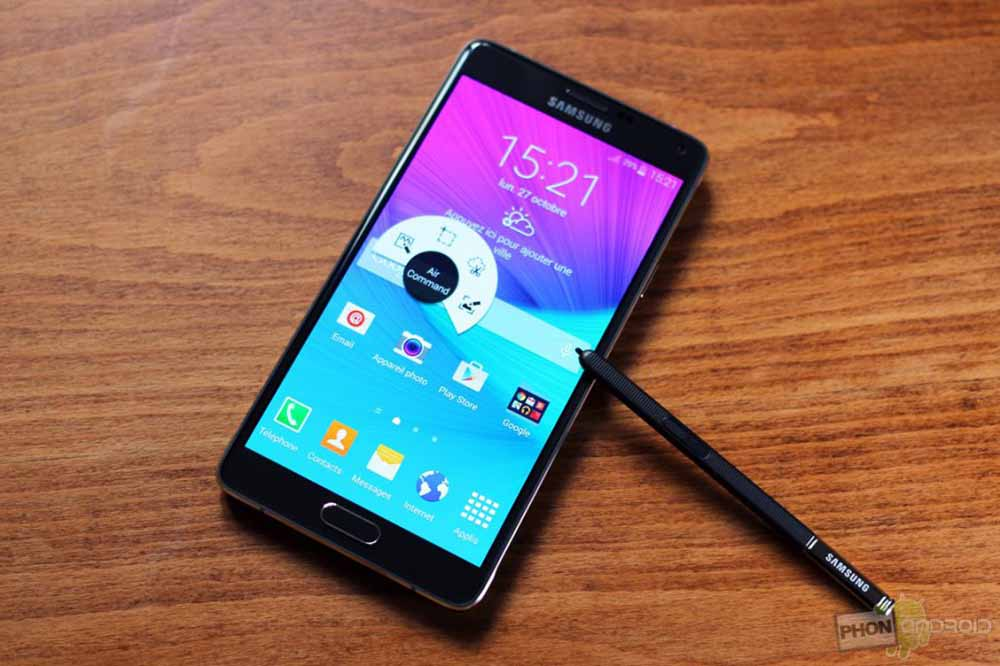 galaxy note 4 jeux