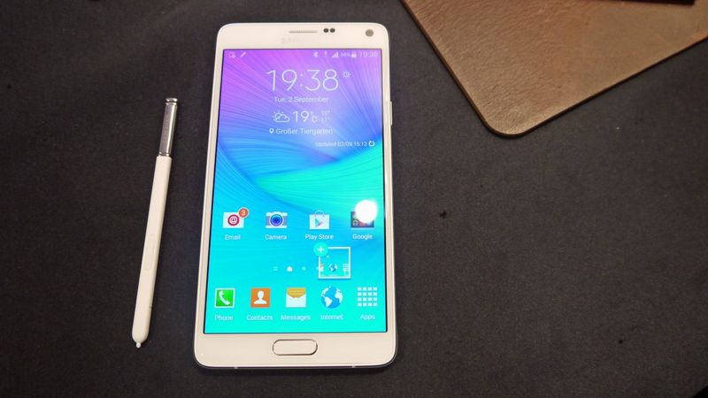 Galaxy Note 5 ecran 4K