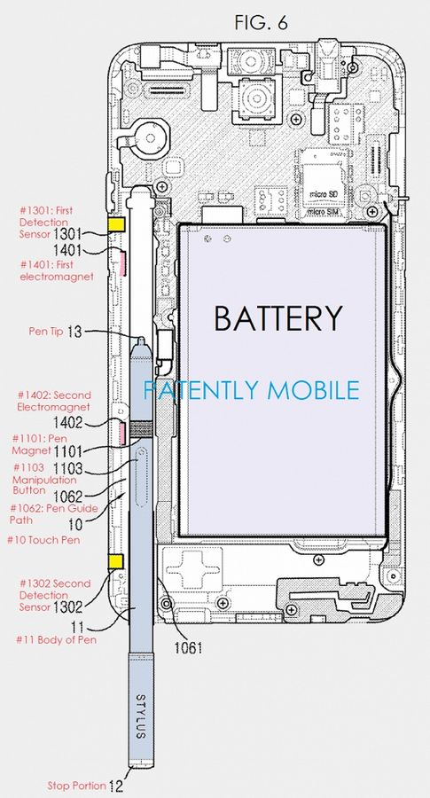 brevet S Pen Galaxy Note 5