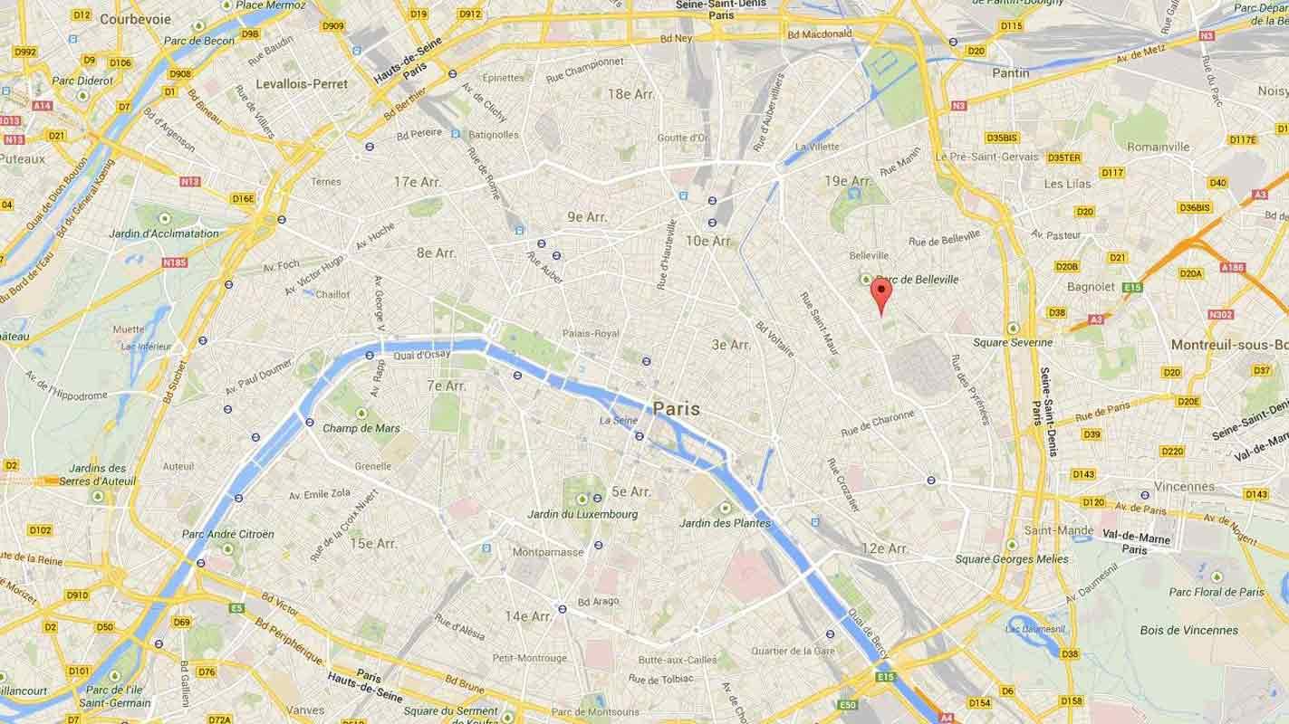 Carte Paris Google Maps