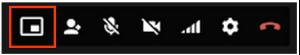 Option plein écran d'Hangouts 4.0